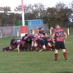 Matty Curry's 1st try v Whitby Sat. 22nd Oct. 2016