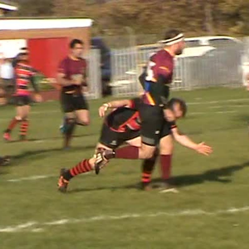 Matty Curry's 2nd try v Whitby 22nd Oct. 2016