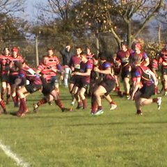 Richie Young's try v Whitby 22nd Oct. 2016