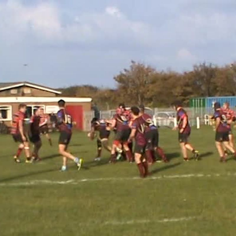 Matty Curry's Hat Trick Try v Whitby 22nd Oct. 2016