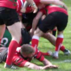 Final Duchy League try of the season for the Champions