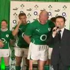 Irish Rugby Shirt Launch