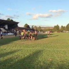 Lloyd Watkins try Exmouth v Bury St Edmunds