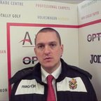 HTFC vs Brightlingsea Regent post-match interview
