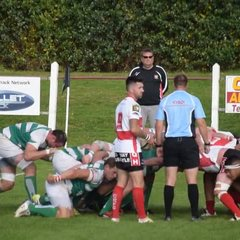 Brad Howe`s try after a great scrum