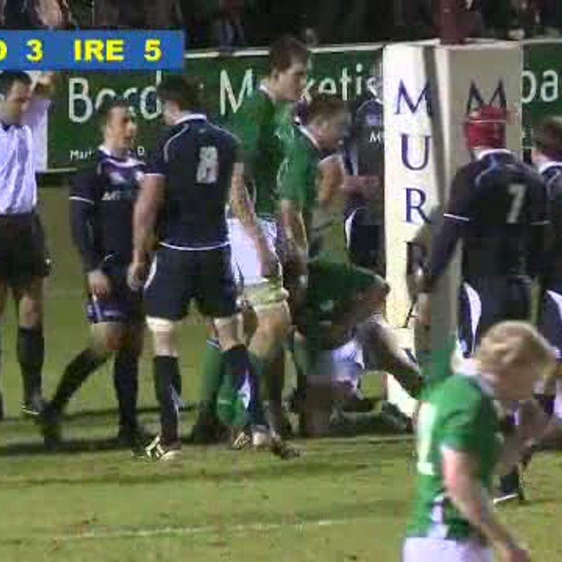 SRTV - Scotland A v Ireland Wolfhounds 26 Jan 2011