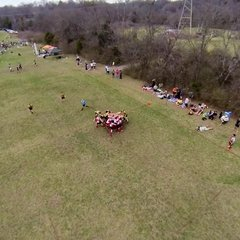 NRFC v KNOXVILLE @ NashBash from a FREAKIN DRONE!