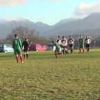 Huw Jones Free Kick v Holy Isle