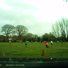 8 March 2015 - Alex Neave scores against Manor Colts