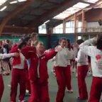 U14/U16 show off their moves at Disneyland Paris
