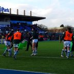 London Irish warm up