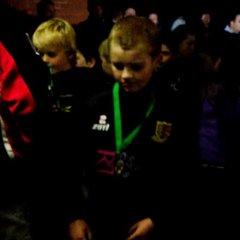 Sandback Floodlit Tournament 2014 - U10s Cup Winners