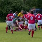 Clan v Llanelli Warriors Opening exchanges June 2013 Tri Nations