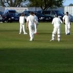 Otto takes 2 Wickets, 1 with his first ball