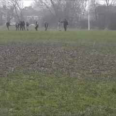 U10s Training in (not so)  Ideal conditions