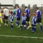 Shaw Lane Aquaforce U7's as mascots