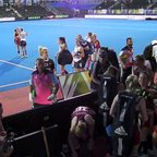 Great view of England Hockey Women's team from the VIP seats at the Euro's 2015