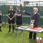Ernie Hird Cup Final win celebrations 2015