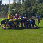 Under 16's v Witney Charlie's try