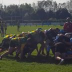 Under 16's v Witney we win the scrum