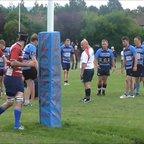 Alex Evans Try Vs Cotham Park