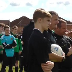 Bolton Wyresdale U18's Cup Final Celebrations 22 May 16