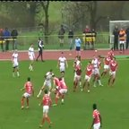 England Youth v Wales U16 Joe Keyes Try