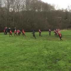 U9s vs Bury 23/1/16 One of Kieran's tries.
