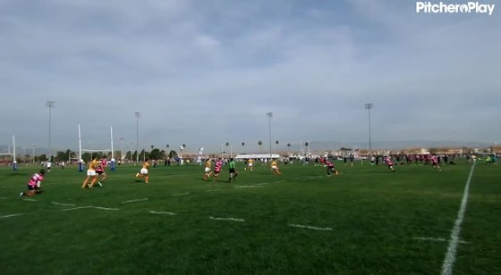 45:49 - USA Falcons Unknown Player Try
