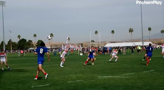 08:19 - Chile Player 7 Try