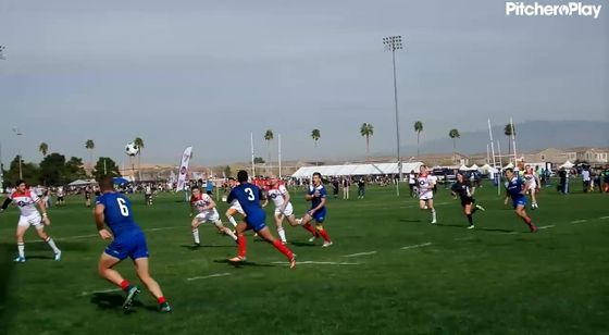 10:59 - Chile Player 12 Try