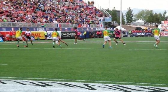USA Falcons Player 6 scores