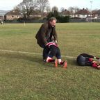 Under 11's Tackle Practice March 2015