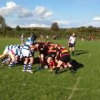 The winning try v Dungannon 4's