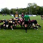 1st XV v Marlborough scrum