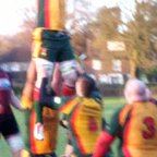 1st XV Line out v Beaconsfield 2