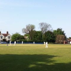 Younus AlGohar hits a four against Meopham C.C.!