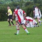 Mike McGarth scores v Somerset