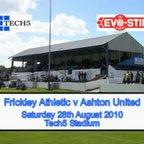 Frickley Athletic v Ashton United - 28/08/10