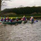 U10 Tour canoe activity