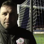 Colwyn Bay post match interview