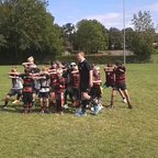mini and junior haka 2014 - socious sports training camp.