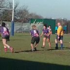 Under 18's Ladies Try by Ellie Frow v Aylestone St James