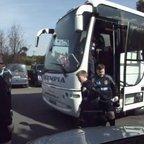 Wirral U13s arrive at The Irish International Festival of Rugby April 2013