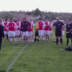Presentation of League and Cup Trophies