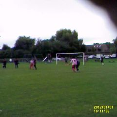 match day goals v pond park collins at the double