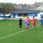 Clitheroe 2-0 Warrington Town. The Penalty.
