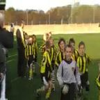 U9's Mascot at DT vs Maltby - Back Off the Pitch
