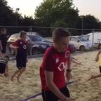 KRFC U12s 201617 Beach Volley Courts