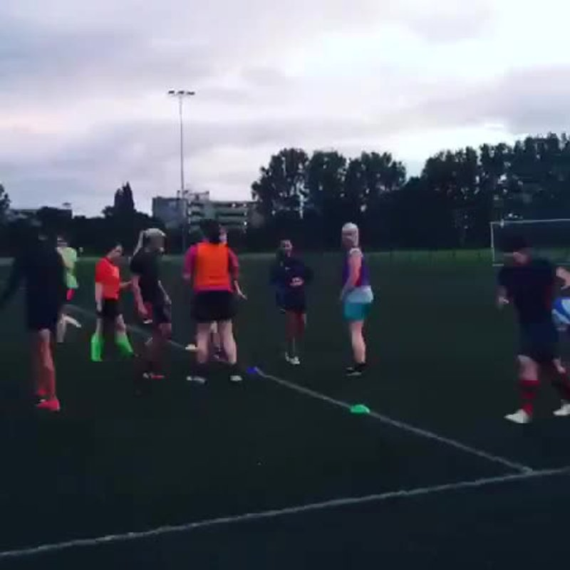 Training - Lineouts (07/08/15)